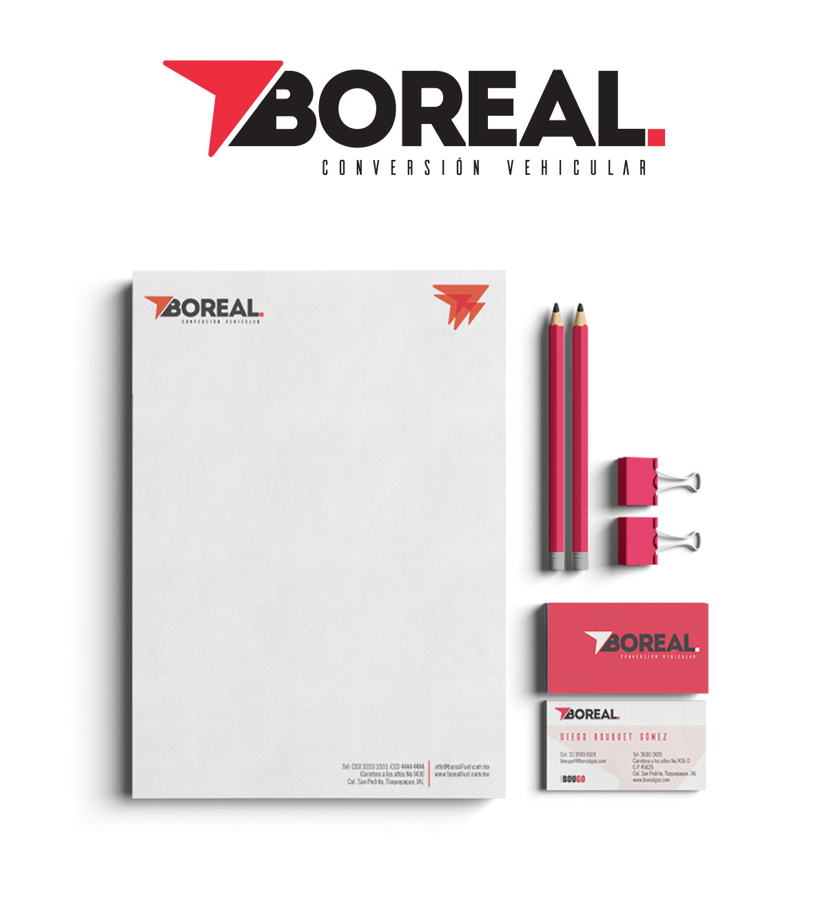 branding project BOREAL 08