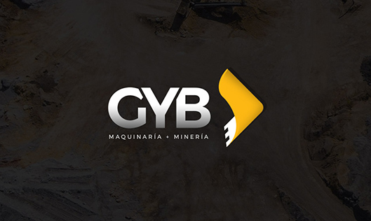web development project GYB Maquinaria pesada